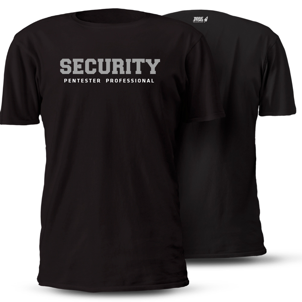 CAMISETA SECURITY PENSTESTER PROFESSIONAL